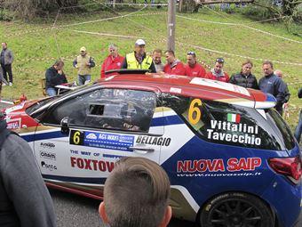 Alex Vittalini, Sara Tavecchio (Citroen DS3 R3T #6, Bluthunder Racing Italy)_shakedown, CAMPIONATO ITALIANO WRC