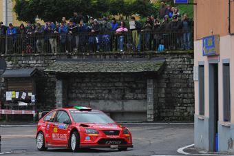 Marco Silva, Giovanni Pina (Ford Focus WRC #12), CAMPIONATO ITALIANO WRC