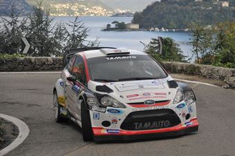 Manuel Sossella, Gabriele Falzone (Ford Fiesta WRC #2, Palladio), CAMPIONATO ITALIANO WRC