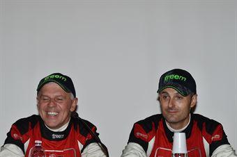 Conferenza Stampa: Manuel Sossella, Gabriele Falzone (Ford Fiesta WRC #2, Palladio), CAMPIONATO ITALIANO WRC
