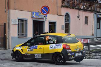 Vescovi Roberto, Giancarla Guzzi (Renault Clio R3C #10, Asd Gr Sport), CAMPIONATO ITALIANO WRC
