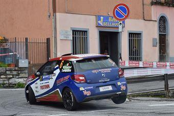 Alex Vittalini, Sara Tavecchio (Citroen DS3 R3T #6, Bluthunder Racing Italy), CAMPIONATO ITALIANO WRC