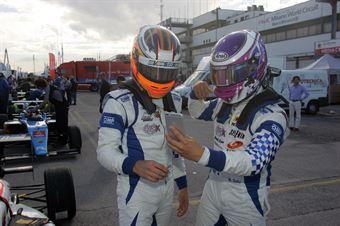 Mauricio Baiz (Vincenzo Sospiri Racing Srl,Tatuus F.4 T014 Abarth #14), Marino Sato (Vincenzo Sospiri Racing Srl,Tatuus F.4 T014 Abarth #15) , ITALIAN F.4 CHAMPIONSHIP POWERED BY ABARTH