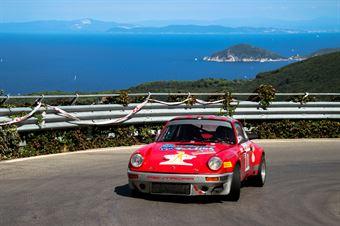 Da Zanche Lucio,Oberti Giulio(Porsche 911 RS,Piacenza Corse Autostoriche,#7), CAMPIONATO ITALIANO RALLY AUTO STORICHE