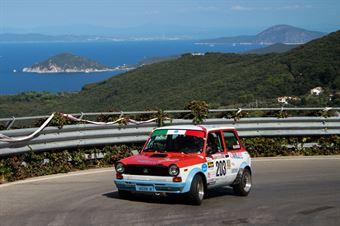 Meggiarin Lisa,Gallotti Silvia(Autobianchi A112 Abarth,Team Bassano,#203), CAMPIONATO ITALIANO RALLY AUTO STORICHE