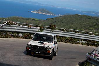 Sisani Giorgio,Mantovani Simona(Autobianchi A112 Abarth,Team Bassano,#205), CAMPIONATO ITALIANO RALLY AUTO STORICHE