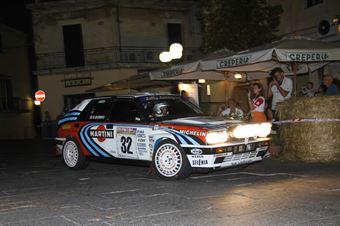 Ferrara Italo,bobbio Gabriele(Lancia Delta HF integrale,Scuderia Monferrato,#32), CAMPIONATO ITALIANO RALLY AUTO STORICHE