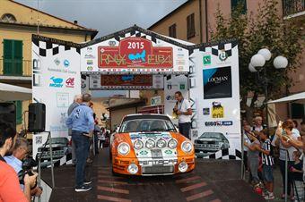 Nicholas Montini,Belfiore Romano(Porsche 911 RS,Piacenza Corse,#1), CAMPIONATO ITALIANO RALLY AUTO STORICHE