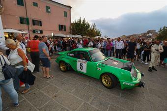 Salvini Alberto,Tagliaferri Davide(Porsche 911 RS,Piacenza Corse,#5), CAMPIONATO ITALIANO RALLY AUTO STORICHE