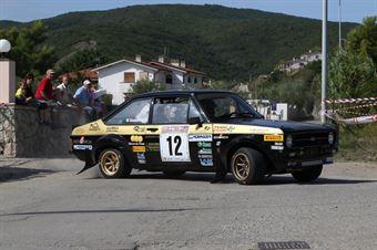 Calzolari Giuliano,Scalabrini Simone(Ford Escort RS,Scuderia Malatesta,#12), CAMPIONATO ITALIANO RALLY AUTO STORICHE