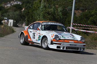 Montini Roberto,Zoanni Erika(Porsche 911 SC,Piacenza Corse Autostoriche,#15), CAMPIONATO ITALIANO RALLY AUTO STORICHE
