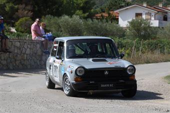 Nerobutto Alessandro,Nerobutto Francesca(Autobianchi A112,Team Bassano,#201), CAMPIONATO ITALIANO RALLY AUTO STORICHE