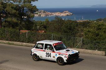Gallione Massimo,Morino Pier Carlo(Autobianchi A112,Team Bassano,#204), CAMPIONATO ITALIANO RALLY AUTO STORICHE