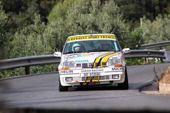 Zandonà Damiano.Bertasini Haianes Tania(Renault 5 GT Turbo,Team Bassano,#21), CAMPIONATO ITALIANO RALLY AUTO STORICHE