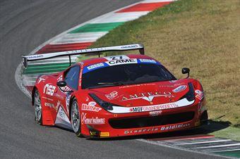 Case Gattuso (Scuderia Baldini 27 Network, Ferrari 458 Italia GT3 #27) , ITALIAN GRAN TURISMO CHAMPIONSHIP