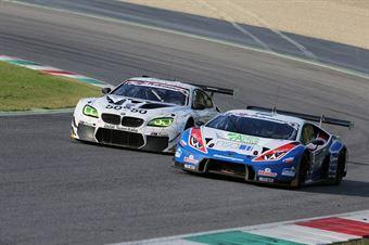 Frassineti Gattuso (Ombra Srl,Lamborghini Huracan GT3 #12), Alessandro Zanardi (BMW Team Italia,BMW M6 SGT3 #50) , ITALIAN GRAN TURISMO CHAMPIONSHIP