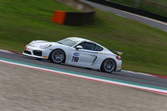 Neri Bellini (Kinetic Racing,Porsche Cayman Sport Club #280) , ITALIAN GRAN TURISMO CHAMPIONSHIP