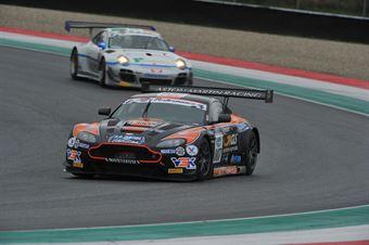 Sini Mugelli (Solaris Motorsport, Aston Martin VantageGT3 #7) , ITALIAN GRAN TURISMO CHAMPIONSHIP