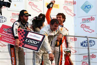 Alessandro Zanardi (BMW Team Italia,BMW M6 SGT3 #50), Venturi Gai (Black Bull Swisse Racing, Ferrari 488 S.GT3 #46) , ITALIAN GRAN TURISMO CHAMPIONSHIP