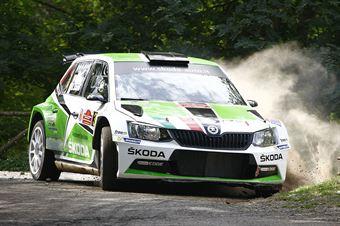 Umberto Scandola, Guido Damore (Skoda Fabia R5 #3, Car Racing), CAMPIONATO ITALIANO RALLY