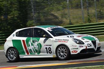 Gianni Giudici (Alfa Romeo Giulietta #18)  , TCR ITALY TOURING CAR CHAMPIONSHIP