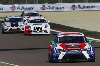 DallAntonia Piccin (BF Racing,Seat Leon Racer TCR #7) , TCR ITALY TOURING CAR CHAMPIONSHIP