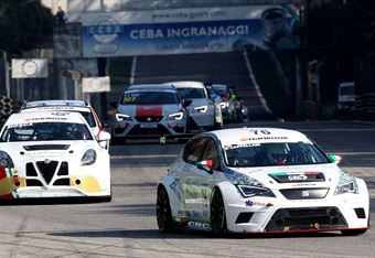 Daniele Cappellari (Team Bassano,Seat Leon Racer TCR #76) , TCR ITALY TOURING CAR CHAMPIONSHIP