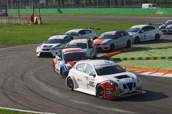 Andrea Bacci (Alfa Romeo Giulietta QV TCT #602) , TCR ITALY TOURING CAR CHAMPIONSHIP
