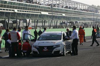 Roberto Colciago (AGS,Honda Civic  TCS 2.0 #105) , TCR ITALY TOURING CAR CHAMPIONSHIP
