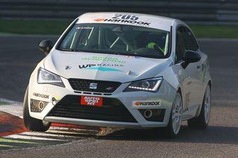 Davide Pigozzi (WP Racing ASD,Seat Ibiza TCS 1.8 #205) , TCR ITALY TOURING CAR CHAMPIONSHIP