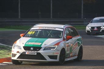 Giampiero Wyhinny (Girasole, SEAT Cupra ST TCS #101)  , TCR ITALY TOURING CAR CHAMPIONSHIP
