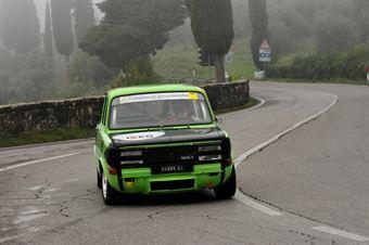 Giuseppe Concadoro – Team Italia – Simca Rallye 2 – 173, CAMPIONATO ITALIANO VEL. SALITA AUTO STORICHE