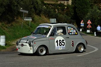 Massimo Brogi – Piloti Senesi – Fiat 500 – 185, CAMPIONATO ITALIANO VEL. SALITA AUTO STORICHE