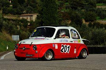 Mario Caravello – Piloti Senesi – Giannini 650 NP – 201, CAMPIONATO ITALIANO VEL. SALITA AUTO STORICHE