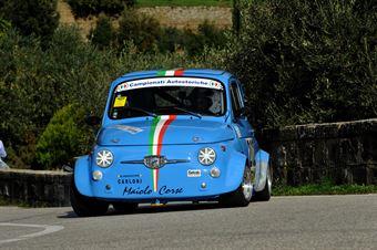 Antonio Maiolo – Piloti Senesi – Giannini 650 NP – 202, CAMPIONATO ITALIANO VEL. SALITA AUTO STORICHE