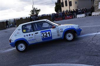 Massimo Meiattini – Piloti Senesi – Peugeot 205 Rally – 321, CAMPIONATO ITALIANO VEL. SALITA AUTO STORICHE