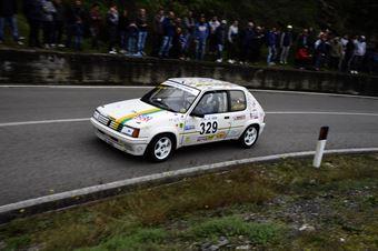 Alfredo Calì – Antares Motorsport – Peugeot 205 Rally – 329, CAMPIONATO ITALIANO VEL. SALITA AUTO STORICHE