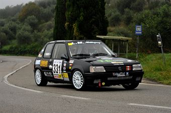 Francesco Mearini – Etruria Racing – Peugeot 205 Rally – 331, CAMPIONATO ITALIANO VEL. SALITA AUTO STORICHE