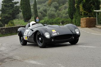 Flavio Tullio – Tojero Jaguar – 353, CAMPIONATO ITALIANO VEL. SALITA AUTO STORICHE