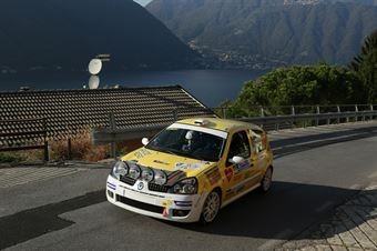 Moreno Cambiaghi, Lara Cere (Renault Clio RS N N3 #46, New Turbomark Rally Team), CAMPIONATO ITALIANO WRC