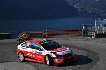 Luigi Fontana, Roberto Mometti (Ford Focus WRC #12, Sc Bluthunder Racing Italy), CAMPIONATO ITALIANO WRC