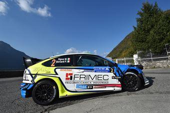 Marco Signor, Patrick Bernardi (Ford Focus WRC #2, Sama Racing), CAMPIONATO ITALIANO WRC