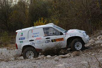 Sabelico Stefano,Musi Robrto(Suzuki Gran Vitara,#15), CAMPIONATO ITALIANO CROSS COUNTRY