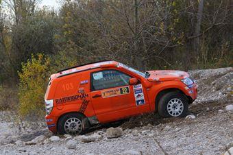 Alfano Andrea,Marsiglia Carmen(Suzuki Gran Vitara.#22), CAMPIONATO ITALIANO CROSS COUNTRY