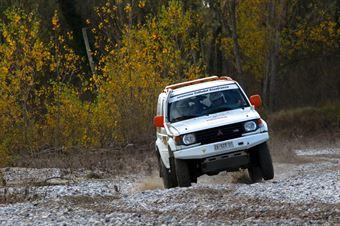 Ceschin Francesco,Feraboli Simone(Mitsubishi Pajero,#38), CAMPIONATO ITALIANO CROSS COUNTRY