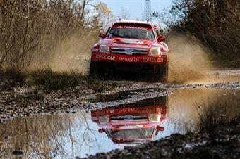 Tomasini Andrea,Toffoli Mauro(Peugeot Prototipo Gwr,#14), CAMPIONATO ITALIANO CROSS COUNTRY