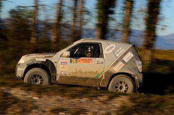 Accadia Armando,Culasso Luca(Suzuki Gran Vitara,#24), CAMPIONATO ITALIANO CROSS COUNTRY