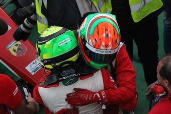 Mick Schumacher (Prema Power Team,Tatuus F.4 T014 Abarth #5), Juri Vips (Prema Power Team,Tatuus F.4 T014 Abarth #44)     , ITALIAN F.4 CHAMPIONSHIP POWERED BY ABARTH