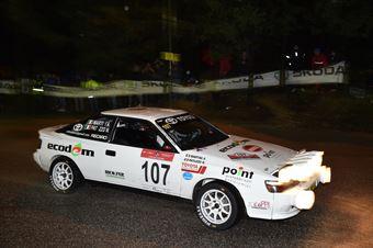Patuzzo Nicola,Martini Alberto(Toyota Celica GT4,Team Bassano,#107), CAMPIONATO ITALIANO RALLY AUTO STORICHE