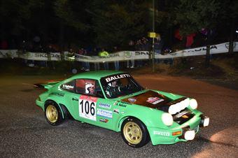 Salvini Alberto,Tagliaferri Davide(Porsche 911 Rsr,Piacenza Corse Autostoriche,#106), CAMPIONATO ITALIANO RALLY AUTO STORICHE
